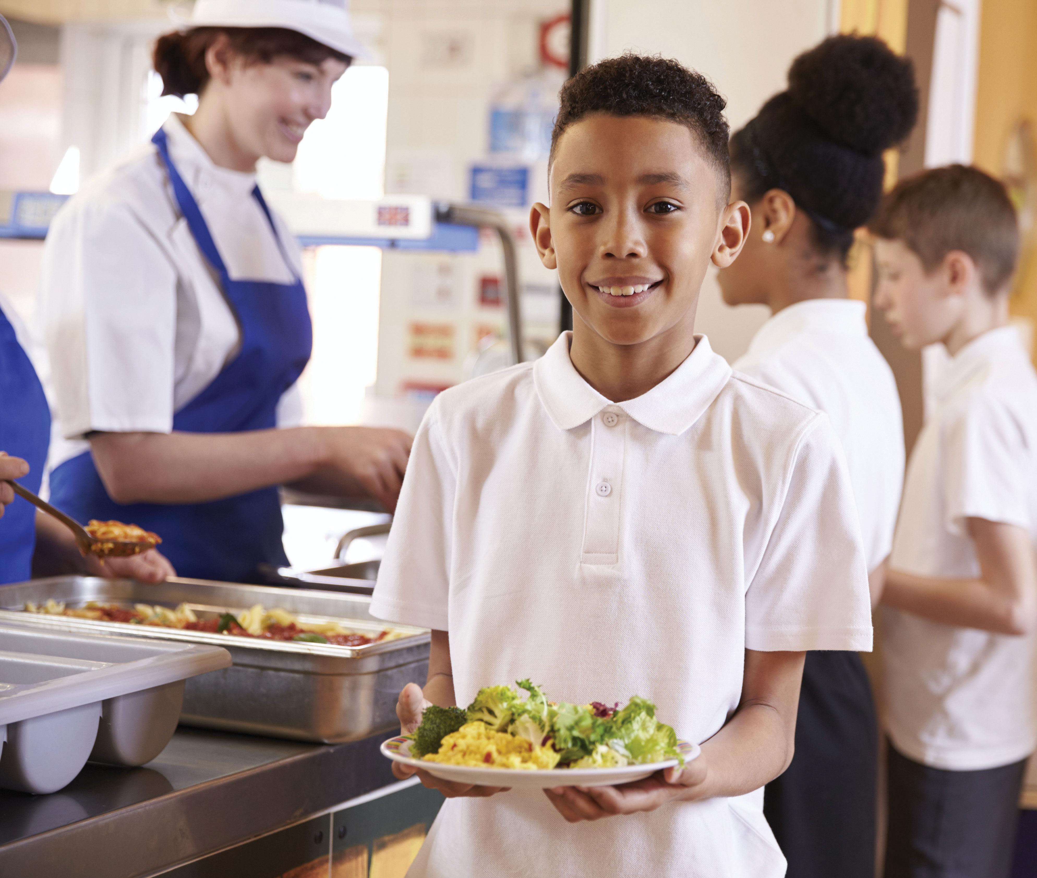 Encourage Healthy Choices Cafeteria