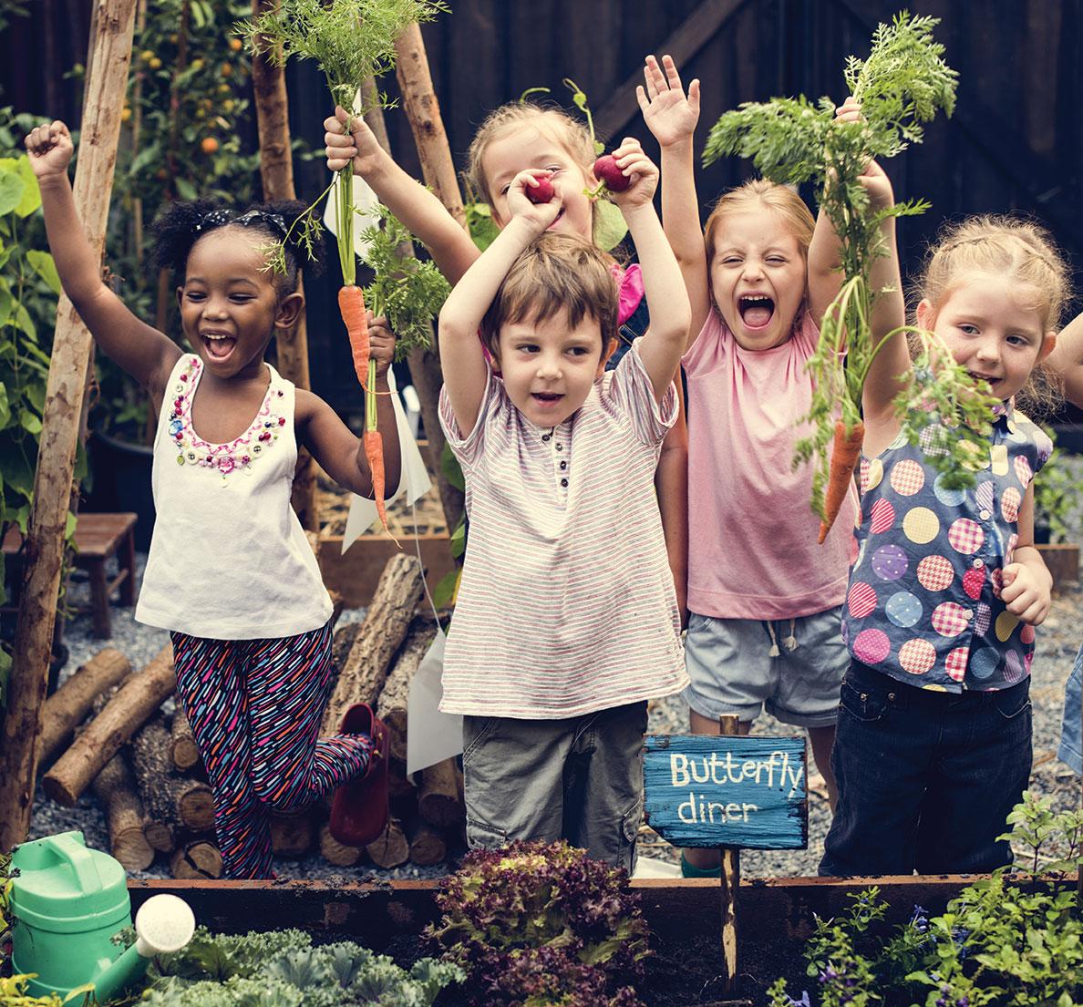 Encourage Healthy Choices Gardening