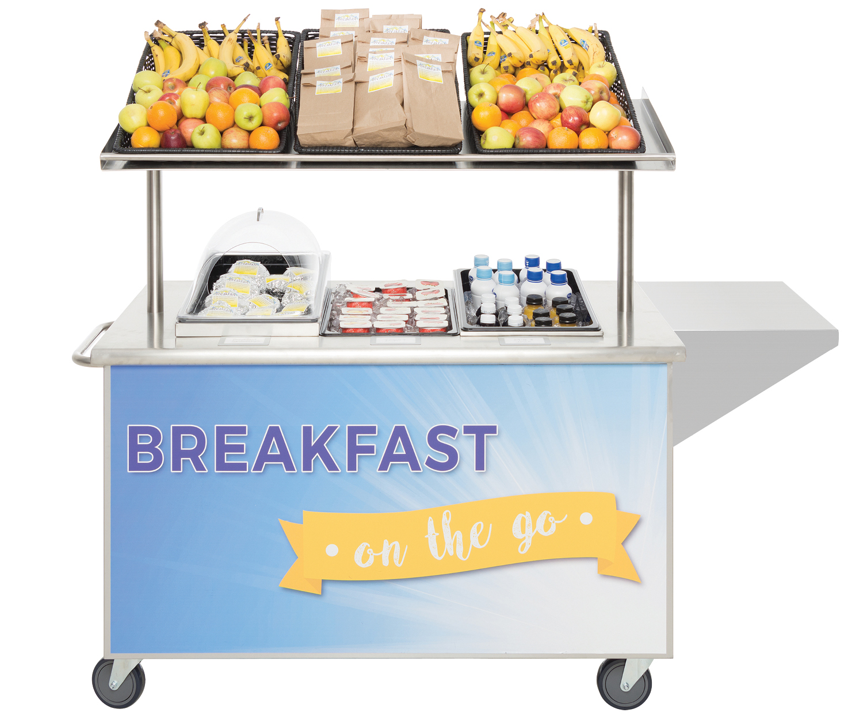 Mobile Breakfast Cart