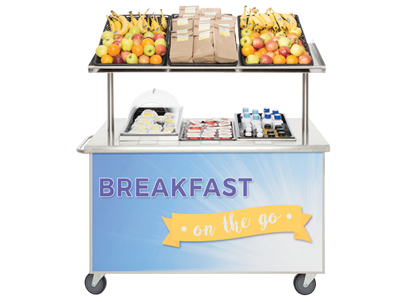 Breakfast Cart