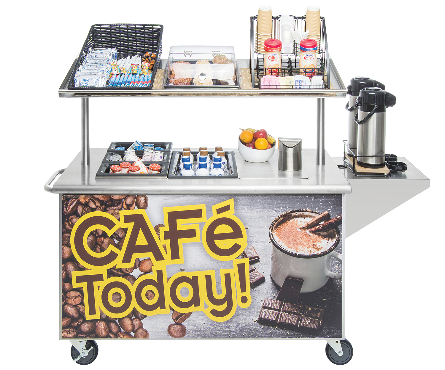 Mobile Coffee Cart