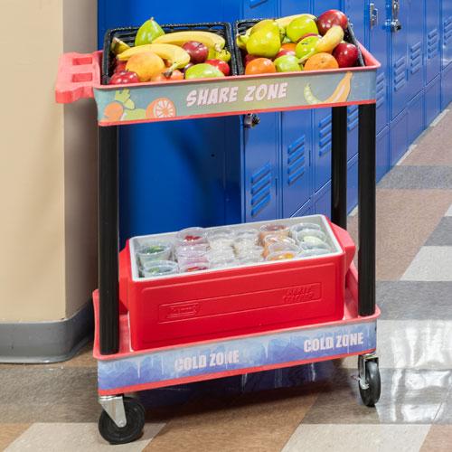 Plastic Share Cart