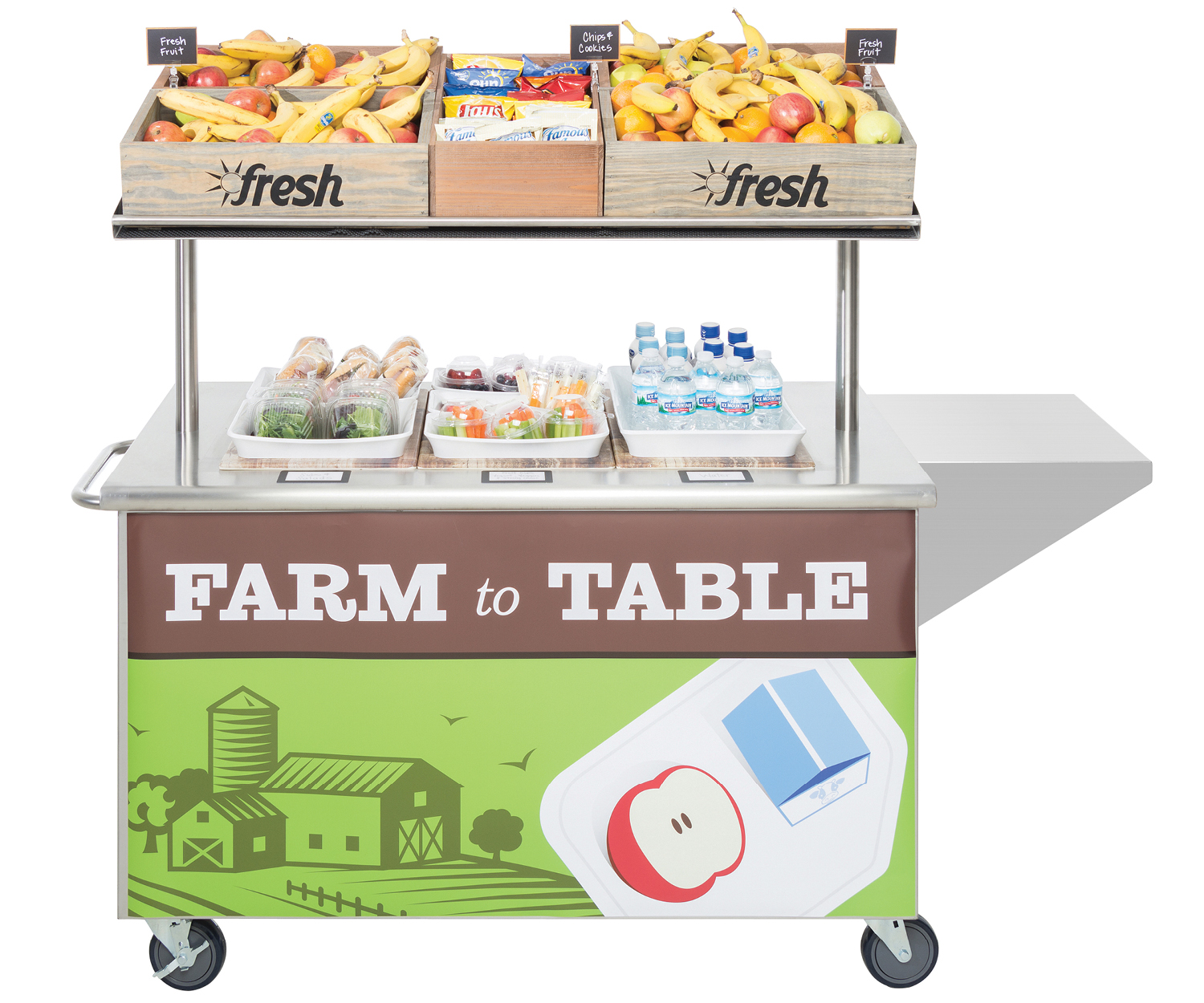 Mobile Lunch Cart