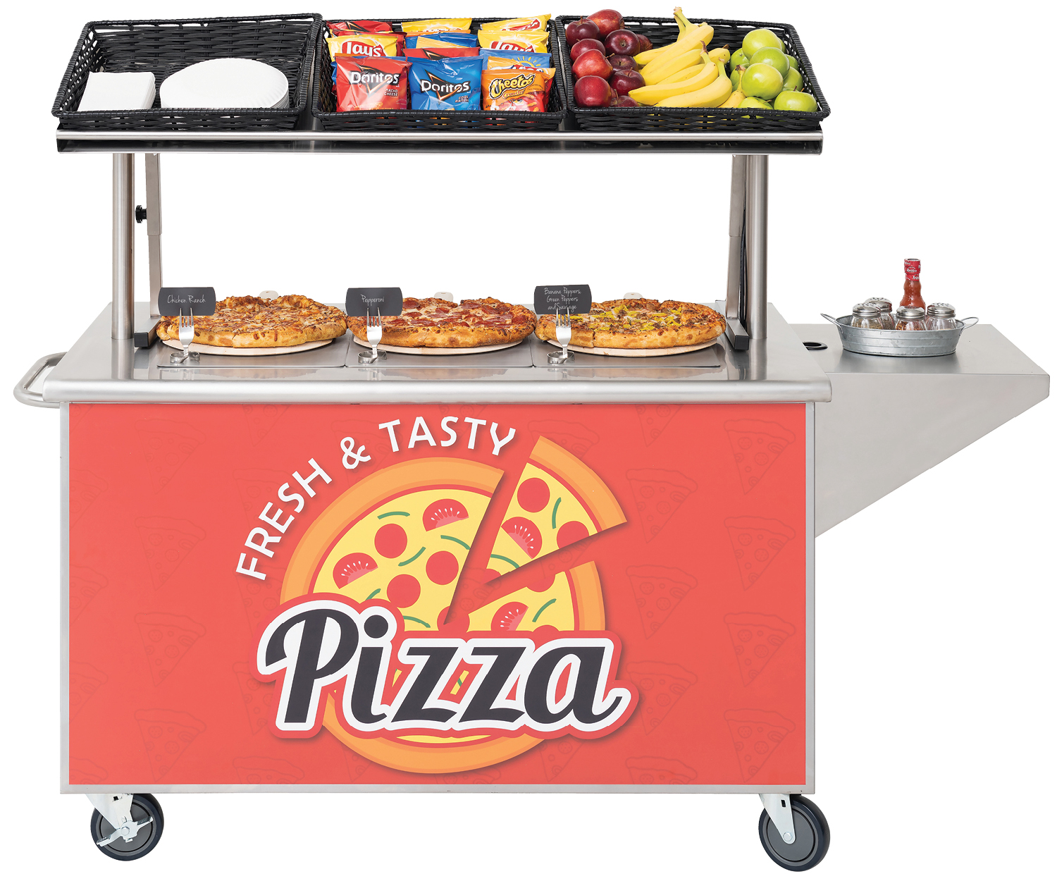 Mobile PIzza Cart