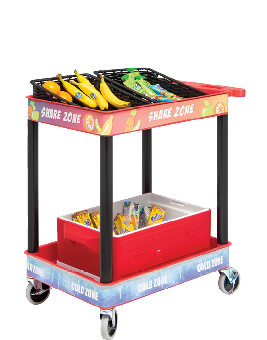 Plastic Share Cart