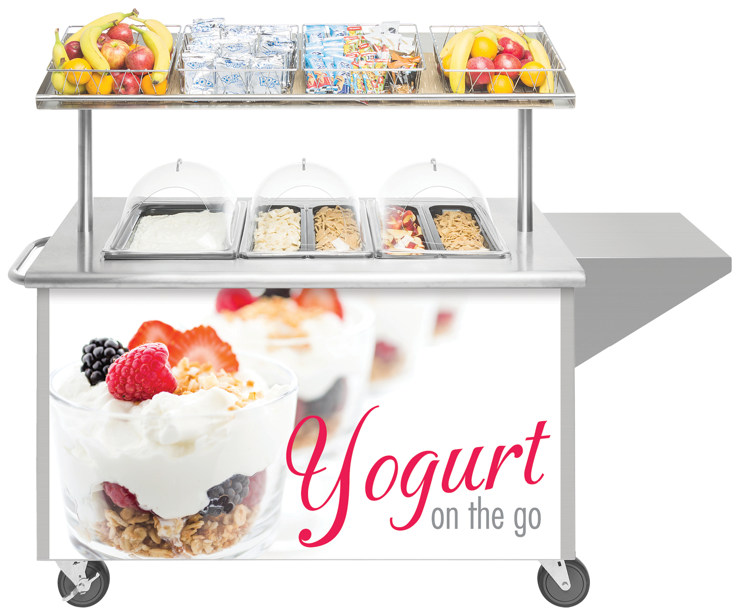 Mobile Yogurt Station