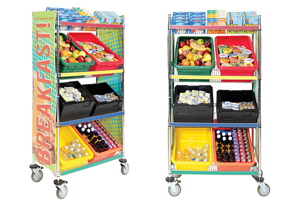 Breakfast in the Classroom Cart