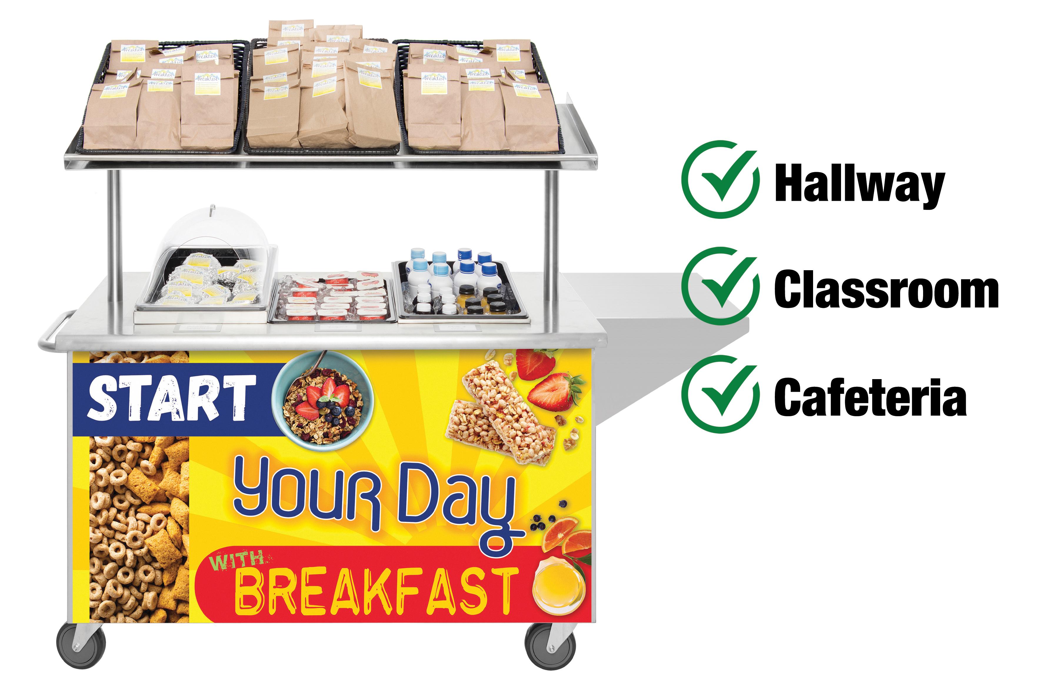 Mobile Breakfast Cart by HUBERT