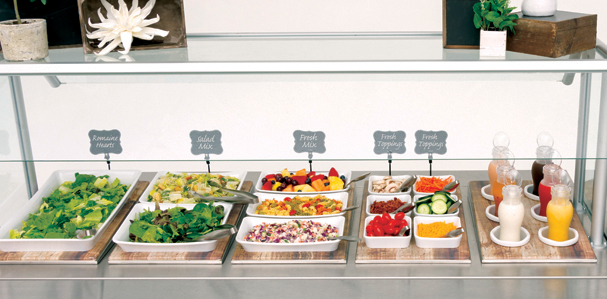 Protein Salad Bar