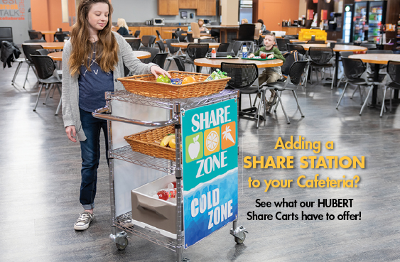 Lunchroom Share Cart