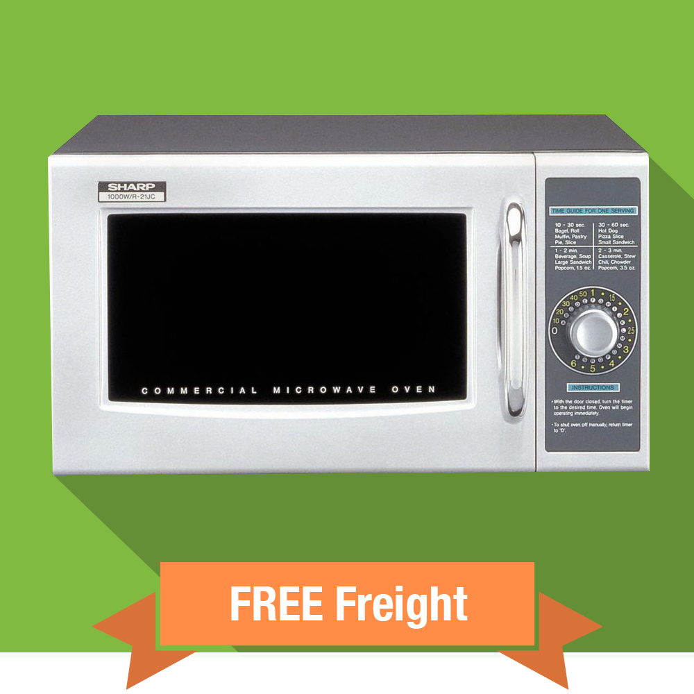 Sharp Commercial Microwave