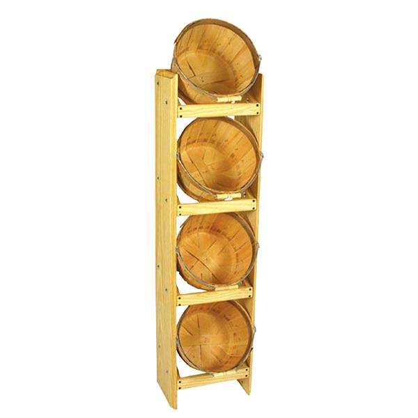 Bushel Basket Rack