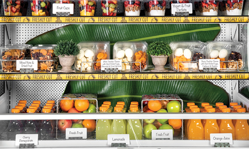 Food Retail Grab and Go