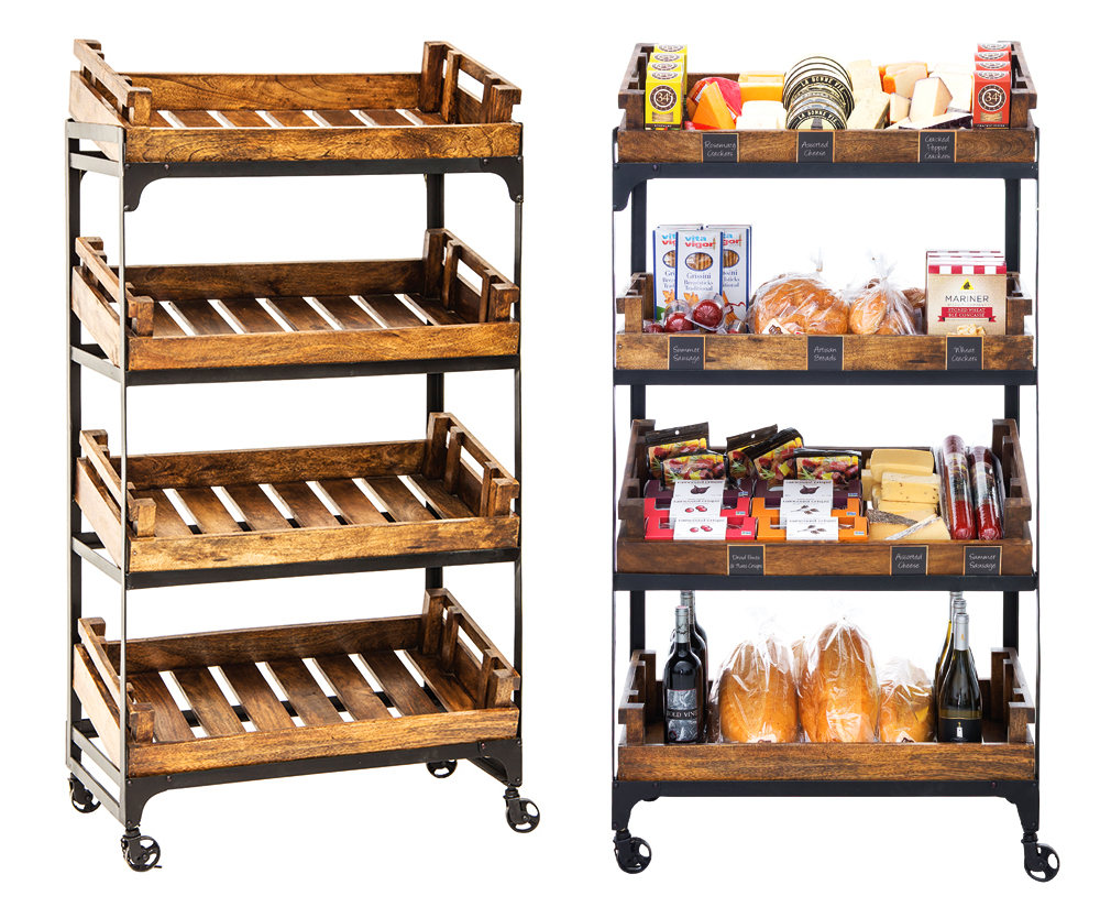 Farmers Crate Stand
