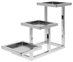 Cerve 3-Tier Chrome Holder
