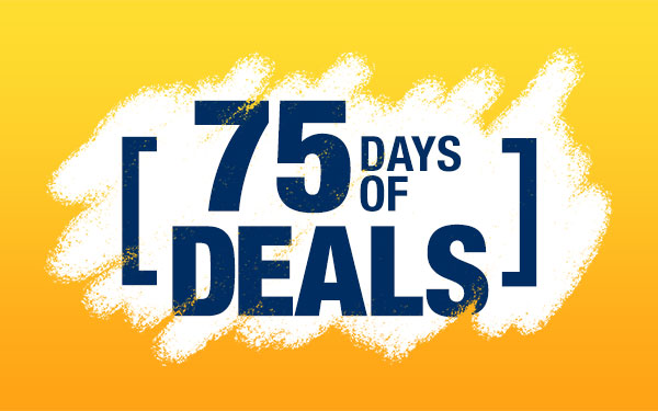 75 Days of Deals