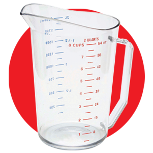 Cambro Camwear�?�?�?�?�?�?�?�?�?�?�?�?�?�?�?�?�?�?�?�?�?�?�?�?�?�?�?�?�?�?�?�® 2 qt Clear Polycarbonate Measuring Cup
