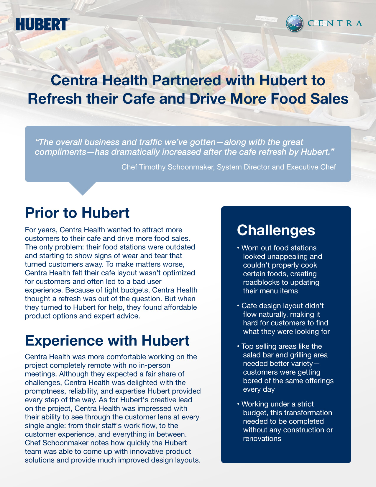 Centra Health Case Study - Page 1