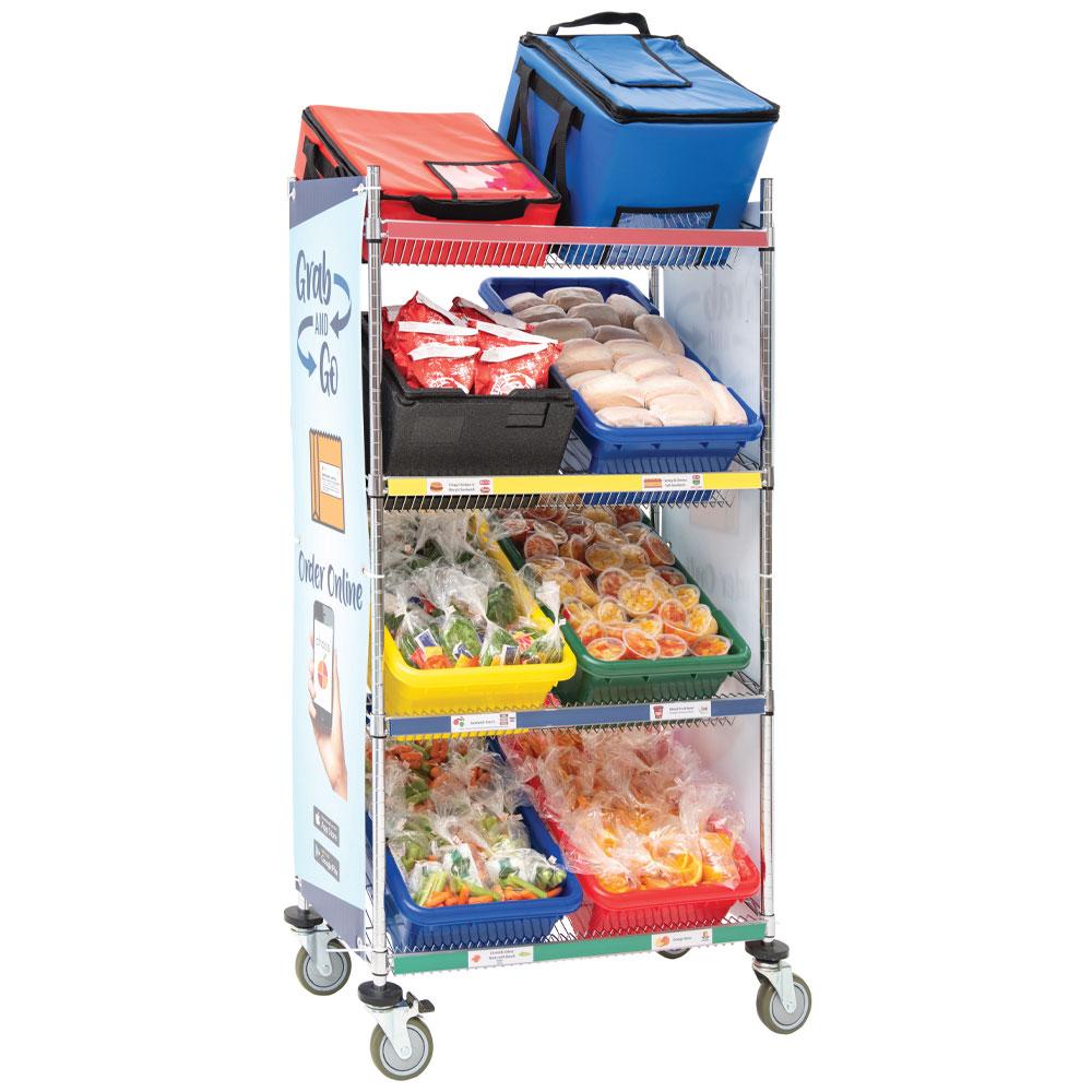 Mobile Classroom Food Cart by HUBERT