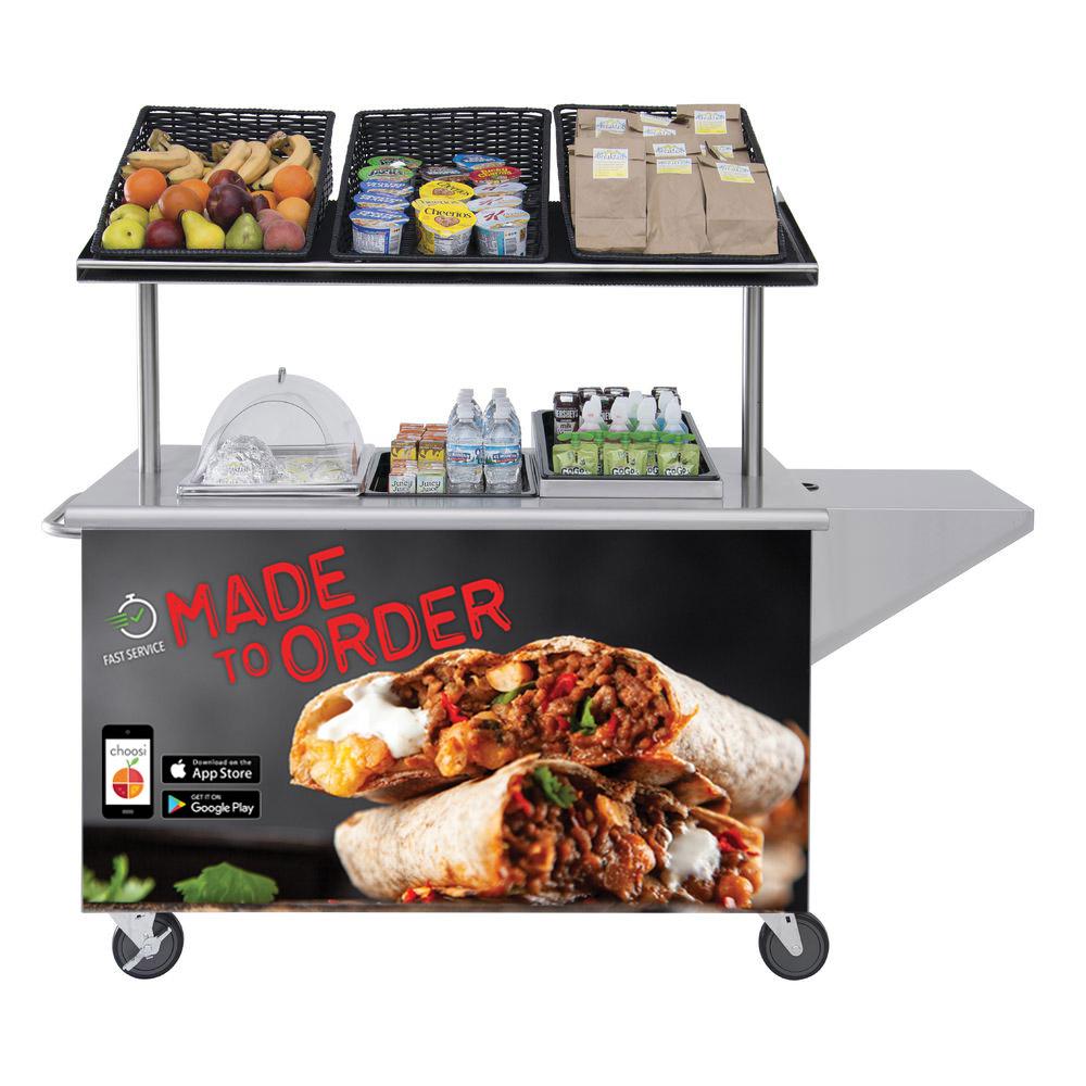 Mobile Food Cart by HUBERT