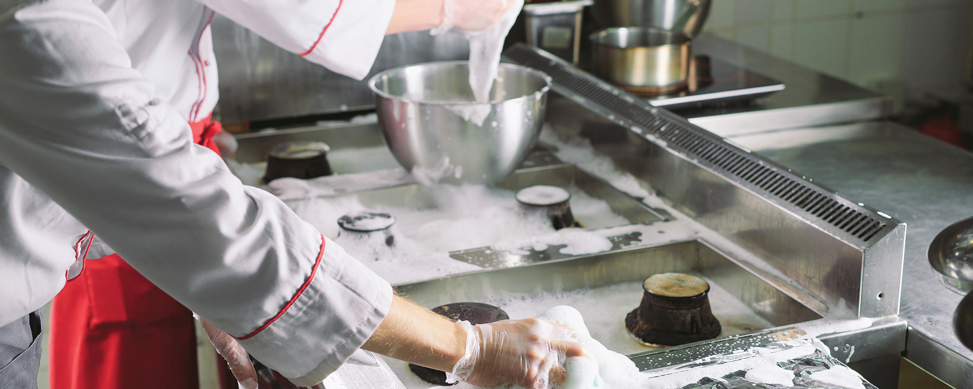 Keep Your Commercial Kitchen Clean & Safe