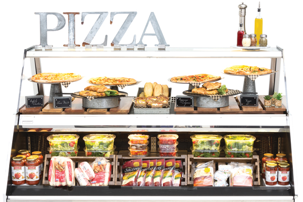 Pizza Grab N Go Display