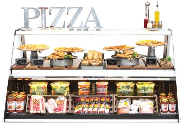Pizza Grab N Go Display