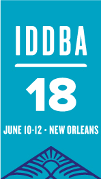 IDDBA 2018 logo with Dates