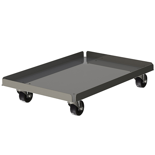 Choice Equipment Aluminum Dough Box Dolly