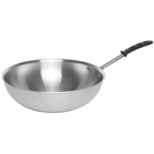 Stainless Steel Stir Fry Pan