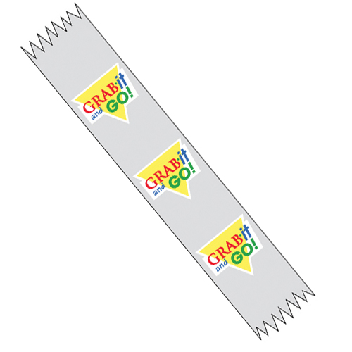 Transparent Merchandising Food Tape