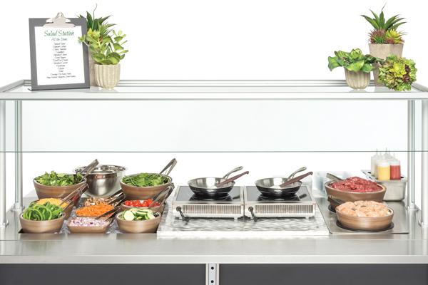 Made to Order Salad Induction Set