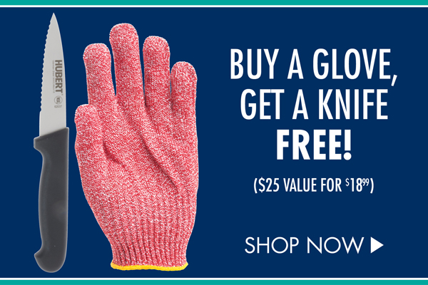 Buy a Glove, Get a Knife Free