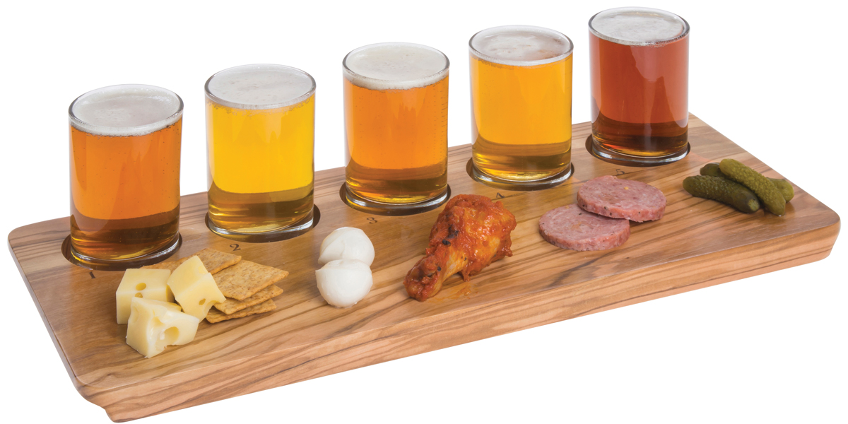 Beer Tasting Flight with Food Pairings