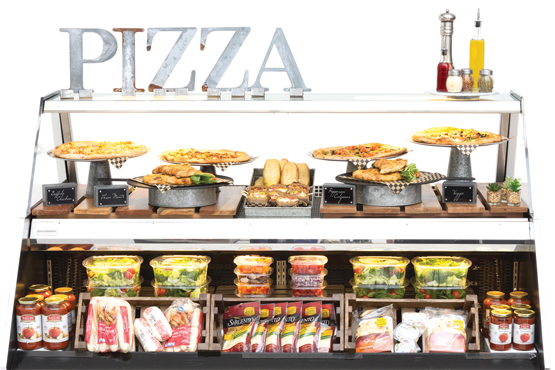 Ingredient Inspired Pizza Station