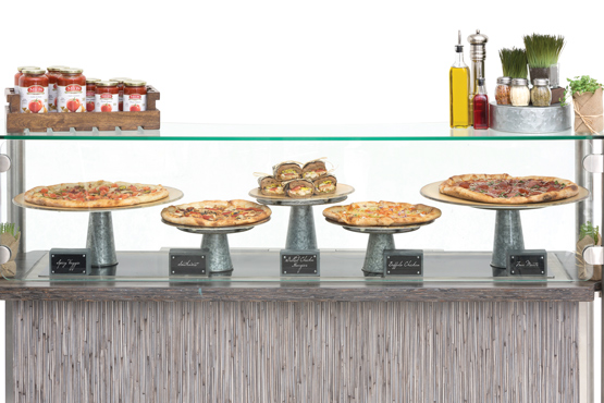 MMMM Minimalist Pizza Station