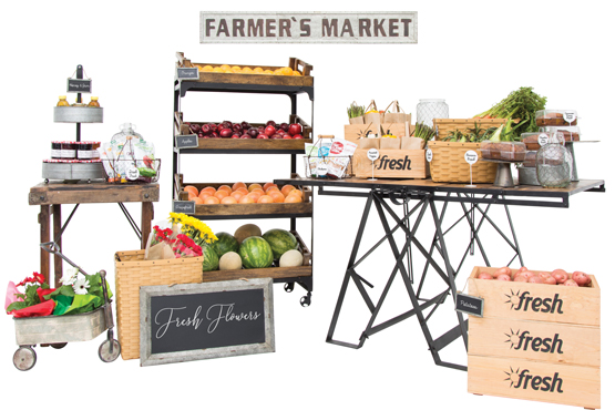 Farm Fresh Displays