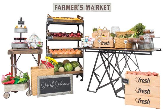 Farm Fresh Displays