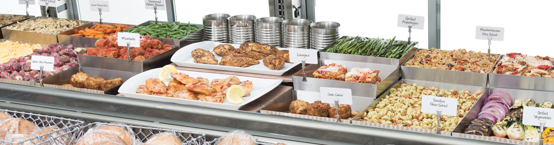 Five Elements of Merchandising in a deli case