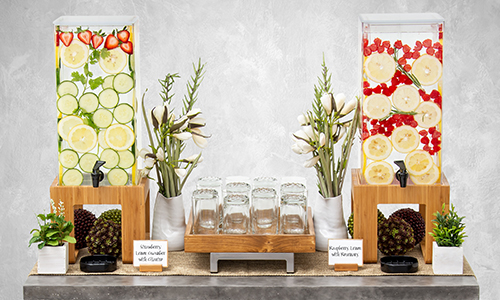 Organic beverage station