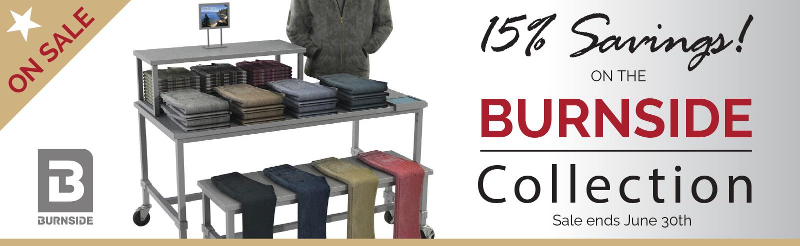 Burnside Sale