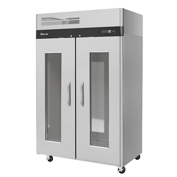 Turbo Air Glass Door Refrigerator