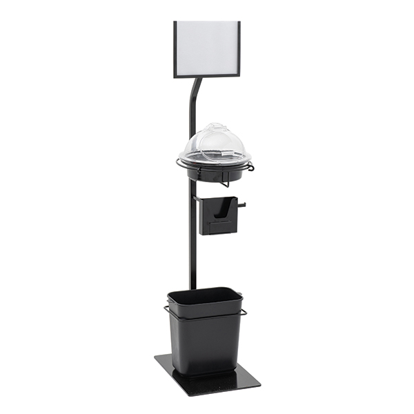 """4S InfoTaste Deluxe Sample Stand With 10""""Dia Sampler"""