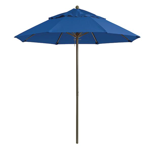 Pacific Blue Fabric Table Umbrella