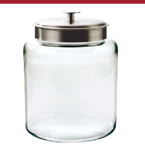 Montana 2 Gallon Glass Jar