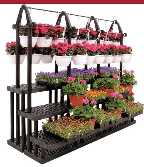 Tiered Flower Stand