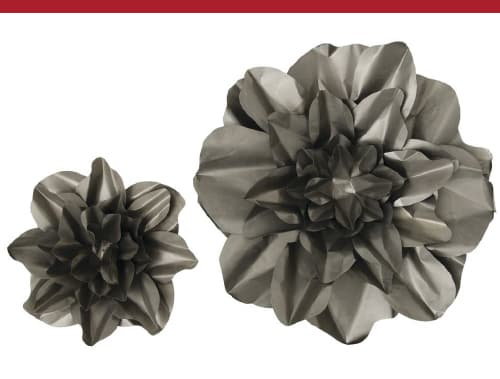 Raw Metal Wall Flowers