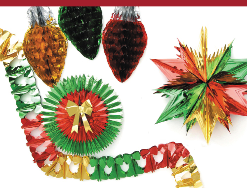 Holiday Metallic Decoration Kit