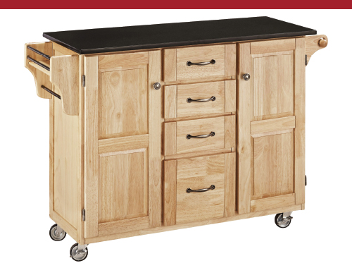 Large Portable Kitchen Island