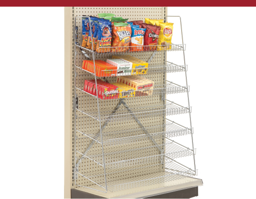 Wire Candy Snack Rack